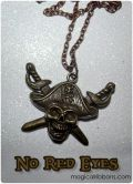 Pirates of the Caribbean Necklace - No Red Eyes