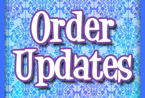 Order Updates October 30th + Product Discontinues and Redesigns