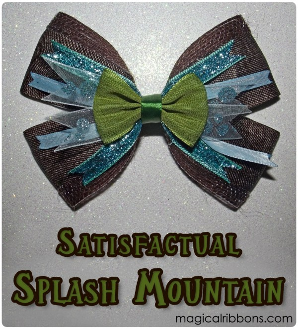 Satisfactual Splash Mountain Bow