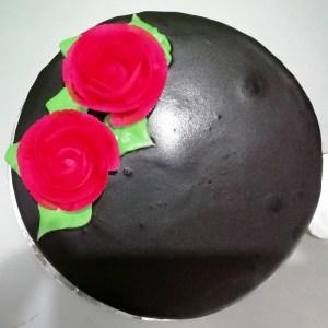 1 Pound Chocolate Cake – Heart