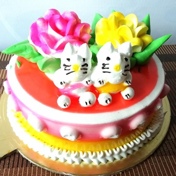 Strawberry Doll Cake