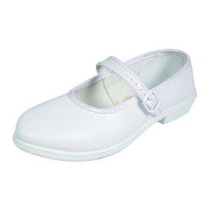 Girls White School Shoes – (केटी हरु को सेतो जुत्ता)