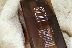 haruスカルプシャンプーのボトル