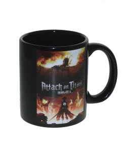 Attack on Titan color changing coffee cup