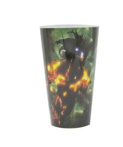 Attack on Titan Eren glow in the dark pint glass