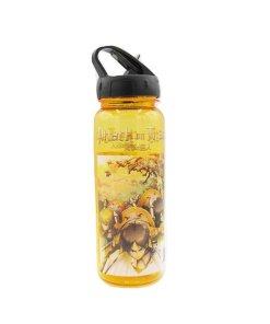 Attack on Titan golden water bottle