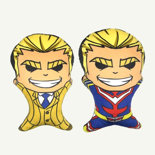 Pillows shaped like character from My Hero Academia