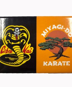 Cobra Kai Saga Continutes magnet