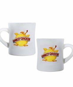 Chokey Chicken coffee mugs
