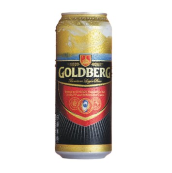Goldberg Premium Lager Can Beer - Shop on Click