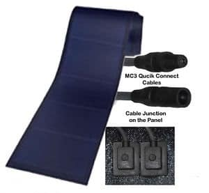 Solar Panel Thin Film 68watt Flexible Amorphous Silicon