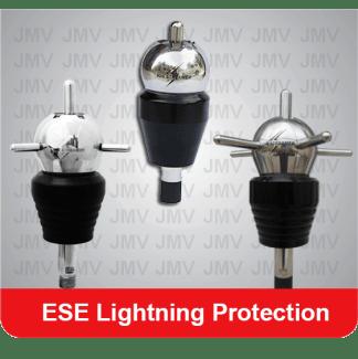 ESE lightning protection for Solar power system