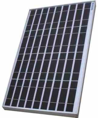Luminous solar panel