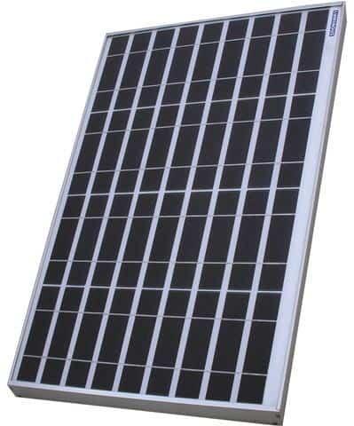 Luminous solar panel
