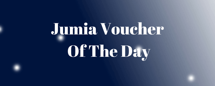 Jumia Voucher Of The Day: Up To ₦3,000 Discount