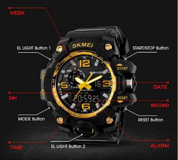 SKMEI WATCH Nigeria Best Deals Reviews