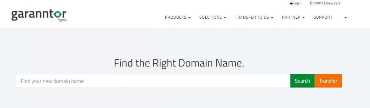 Garanntor Domain Registration