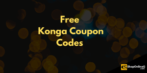 Free Konga Voucher: Up To N3,000 Discount Instantly 2020