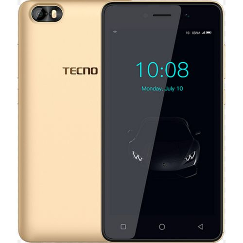 F1 5-Inch (1GB, 8GB ROM) Android 8 Oreo (Go Edition), 5MP + 2MP Dual SIM 3G Smartphone - Gold