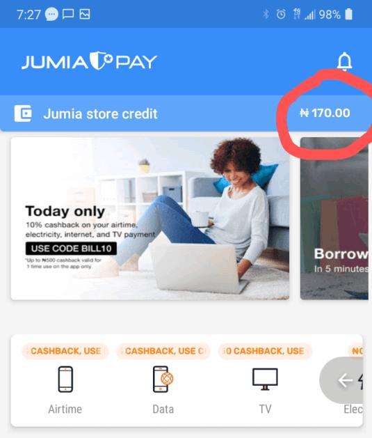 Jumia wallet