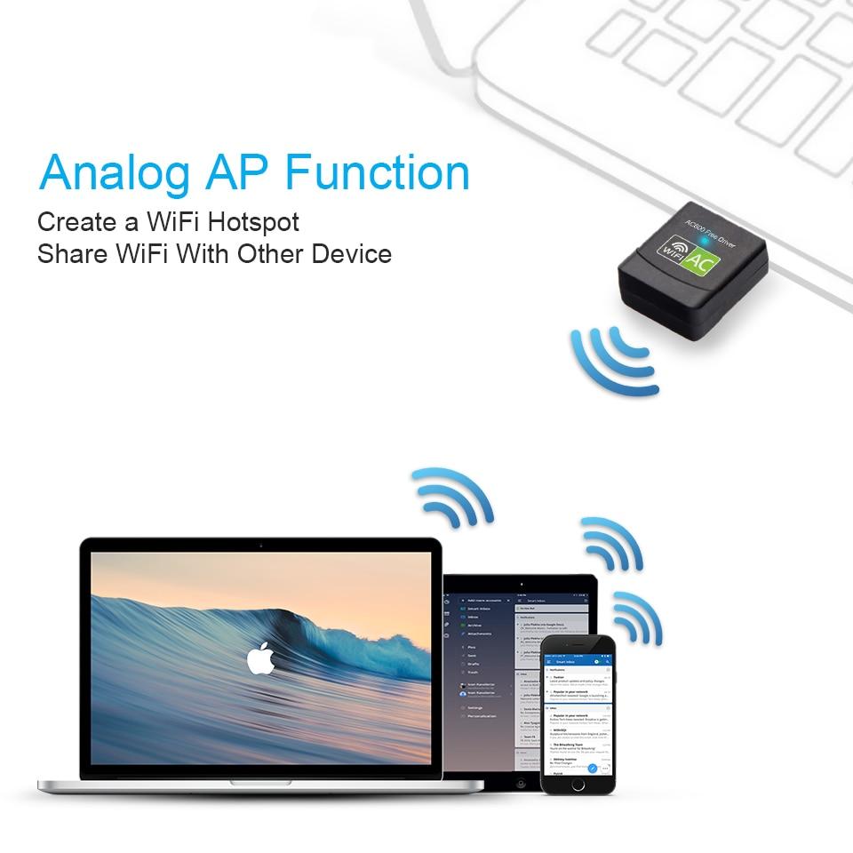 Black / White USB Wi-Fi Adapter