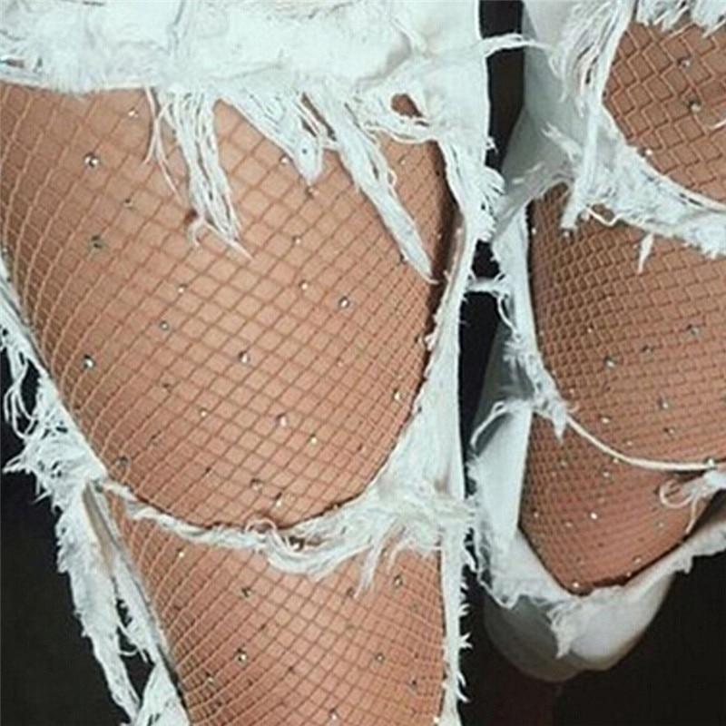 Women's Fishnet Diamond Tights