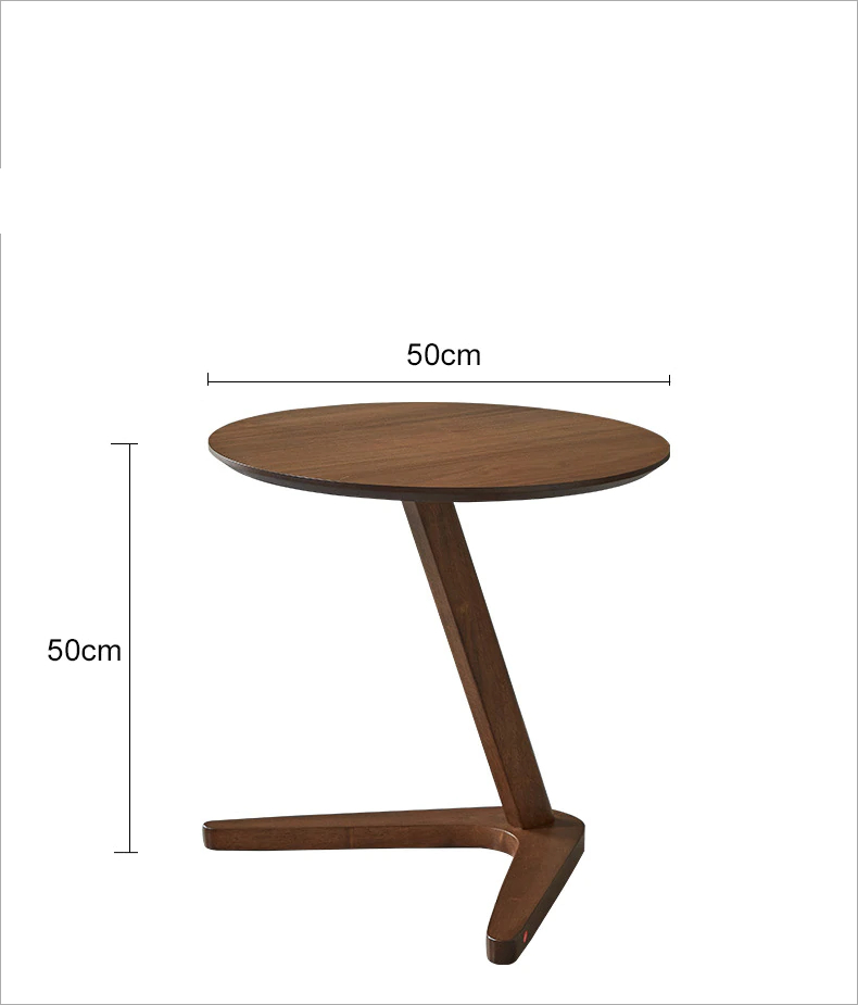 Round Elegant Coffee Table for Living Room