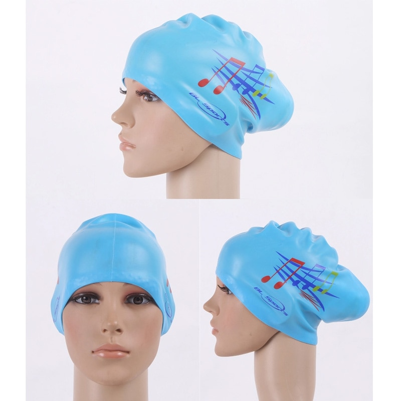 Waterproof Printed Swimming Caps