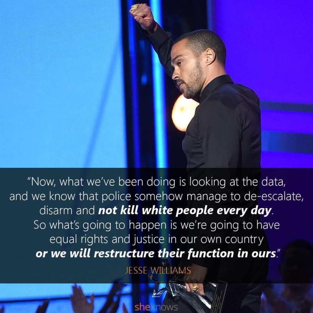 Jesee Williams Speech