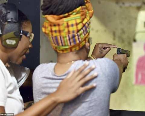 black gun ownership