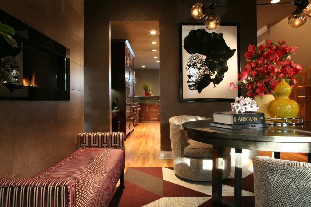 black interior designers