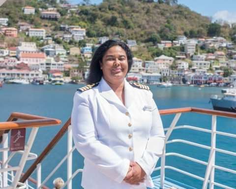 First Black Woman Cruise Ship Captain