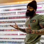 Black Male Nail Technician
