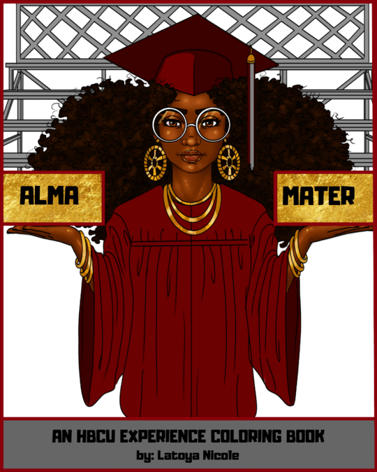 black owned coloring book