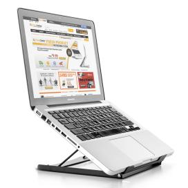 Dab1b primecables cab lps01 2 monitor desk mounts height adjustable laptop tablet stand portable ergonomics primecables