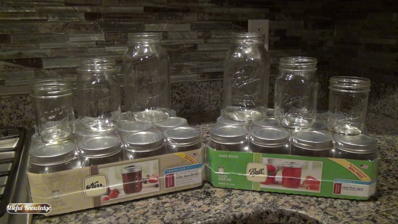 Ball Mason Jars vs Kerr Mason Jars – Whats the difference? | Useful Knowledge