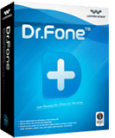iPhone Data Recovery -Dr. Fone Windows Software Packaging Box