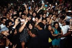 People enjoying in Honey Singh Night