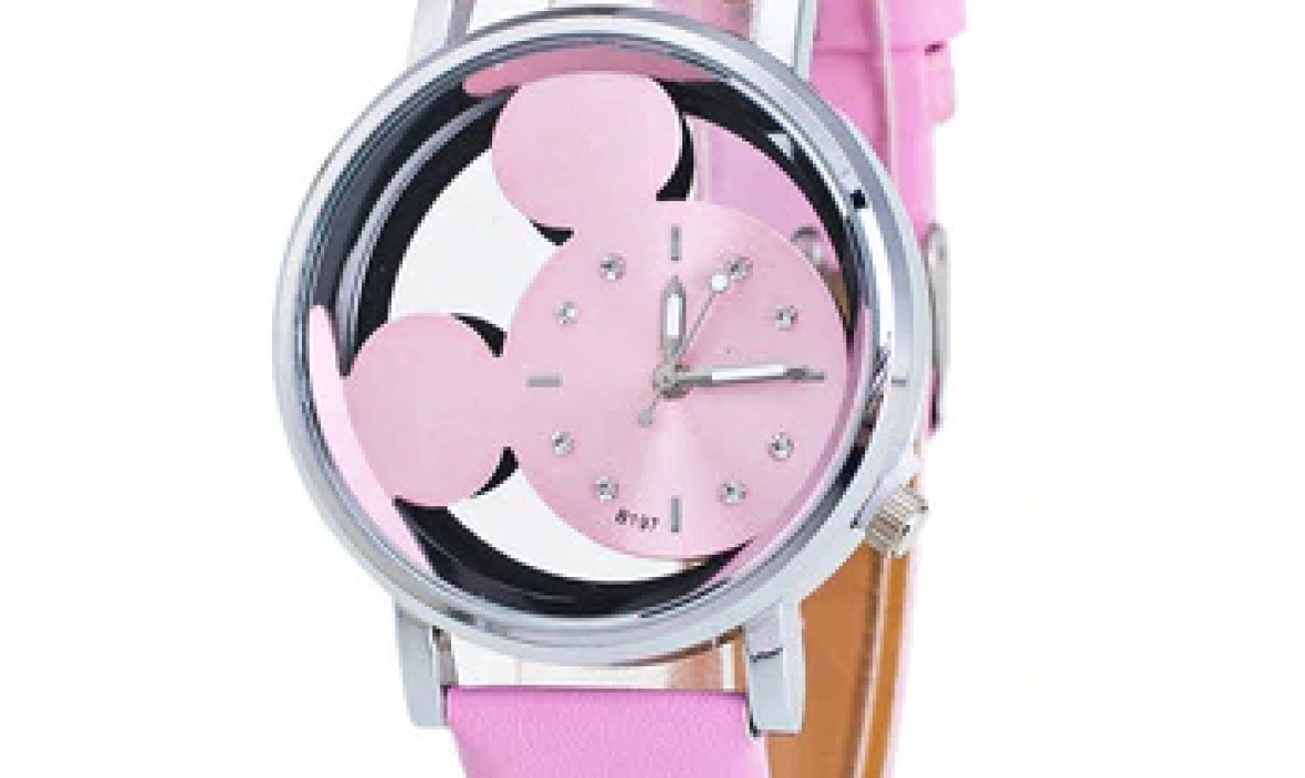 Korean version of the trend of fashion retro ladies watch simple casual belt roundfemale middle school watch fashion quartzwatch