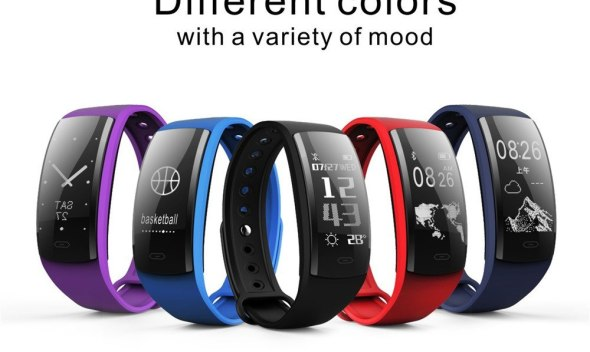 Smart Watch Heart Rate Blood Pressure Oxygen Fitness Tracker Bracelet BT4.0 smart watch blood pressure May.31
