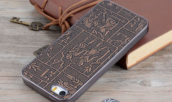 for iphone 5s case Maya Ancient Egypt Vintage Retro Style leather skin with Soft silicone cover phone cases for iphone 5S 5 SE