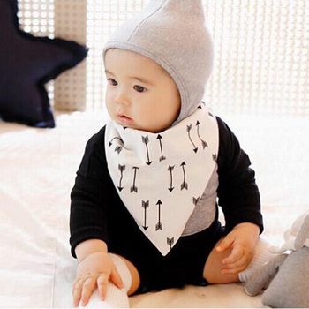 BABY BIBS 100% Cotton Baberos Bandana Triangle Bibs Saliva Towel Waterproof Boy Girls Infant Towels Bibs For Babies