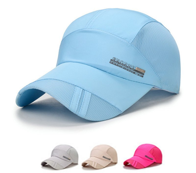 Sale Adult 4Colors 1PC Summer Adjuatable Sun Polyester Women And Men Hot Sale Sport Running Breathable Mesh Caps 2018