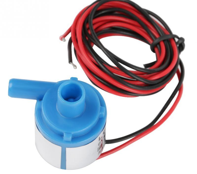 DC 6V 3W Brushless Water Pump Multistage 1.5Lmin Energy-saving water circulation Pump for Aquarium Fountain Medical Instruments