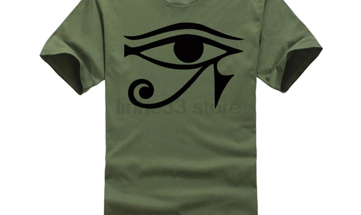 2018 new funny Eye of Horus Ancient Egypt legend Anubis Pharaoh short sleeve t shirt streetwear Egypt tourism tee clothes
