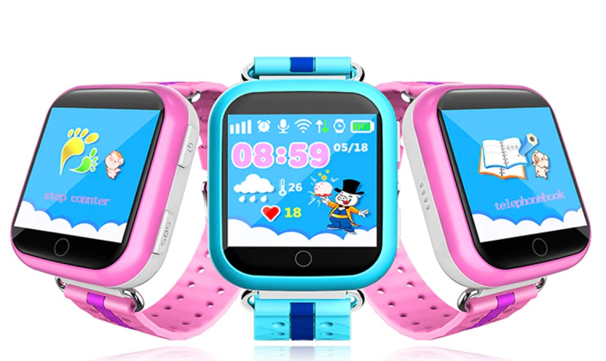 Watch Phone GPS Smart Watch Q750 Q100 Baby Smart Watch With 1.54inch Touch Screen SOS Call Location Device Tracker for Kid Safe
