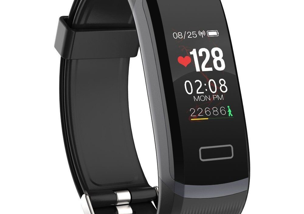 Smart watch 24-hour heart rate monitor color screen waterproof fitness information reminder Bluetooth smart watch  IOS Android