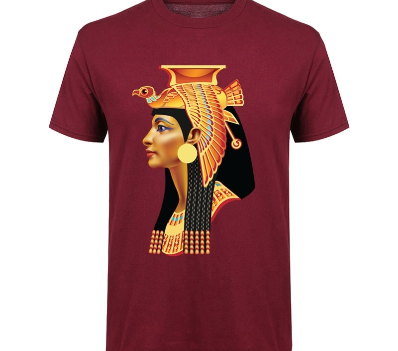 Exclusive Creative Ancient egypt cleopat t shirt man Egypt Sphinx tshirt Mystery Mummy Totem Printed T-shirt suprem men t-shirt