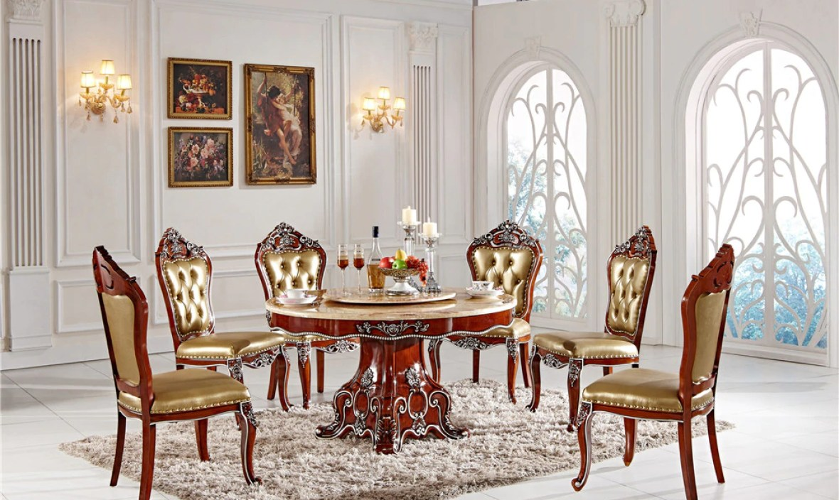 home design durable dinning table with chairs