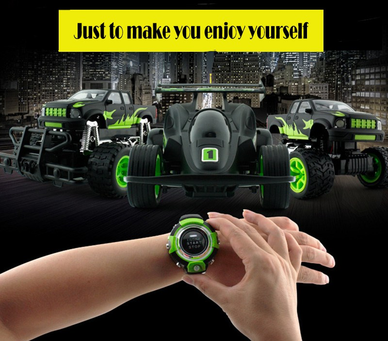 Smart Watch Voice Control Toy Rc Car Kids Birthday Gifts Presents 3 Different Styles Avaliable Watch Controlled Smart Novel Toys